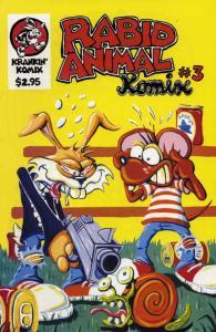 Rabid Animal Komix #3 VF/NM; Krankin' Komix | save on shipping - details inside