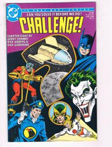 Challenge #8 VF DC Comics Comic Book Conway JLA Superman June 1986 DE22