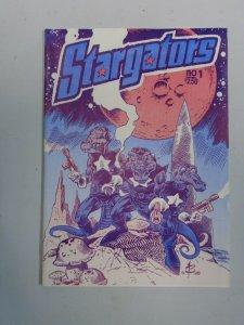 Stargators #1 8.0 VF (1989 Burcham Studios)