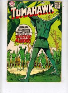 Tomahawk #118 (Oct-68) VG/FN Mid-Grade Tomahawk