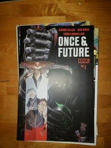Once and Future #1 (Boom 2019) 1st Print Cover A NM Kieron Gillen Dan Mora