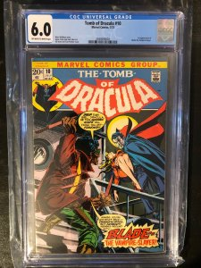 Tomb of Dracula #10 CGC 6.0 - 1st Appearance of Blade