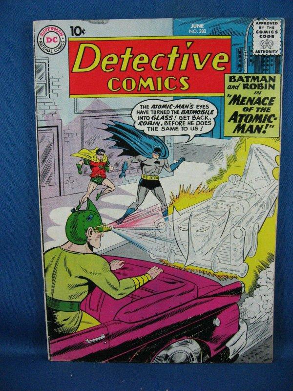 Detective Comics #280 (Jun 1960, DC) Fine+ Batman
