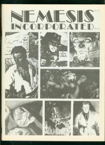 NEMESIS INCORPORATED FANZINE #13-1982-PULP-DOC SAVAGE   FN/VF