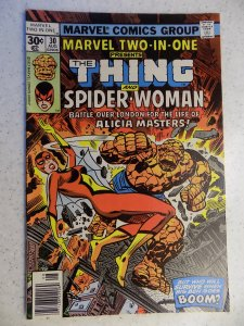MARVEL TWO-IN-ONE # 30 THING SPIDER-WOMAN JESSICA JONES ACTION ADVENTURE