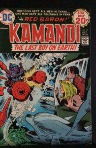 Kamandi, The Last Boy on Earth #22 (1974)