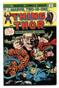 Marvel Two-In-One #9 1975-Thor- Thing- VF/NM