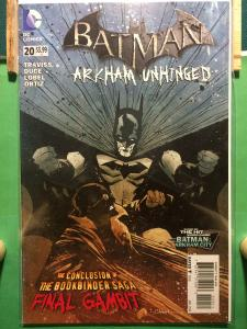 Batman Arkham Unhinged #20 The New 52