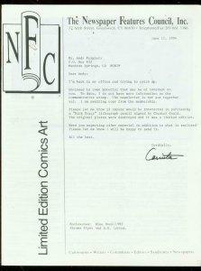 Newspaper Features Council Newsletter JUNE 17 1994-COMICS VF