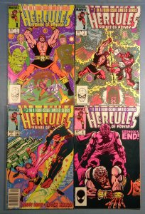 Hercules Prince of Power Lot #1 #2 #3 #4 Complete 1984 Series