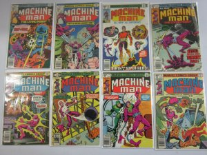 Bronze age Machine Man lot 8 different from #3-15 (1978-80 1st Series)