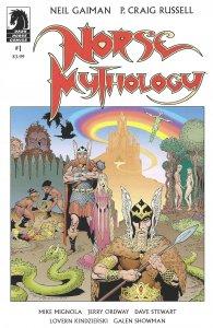 Norse Mythology #1 - Neil Gaiman & P. Craig Russell - Dark Horse Comics