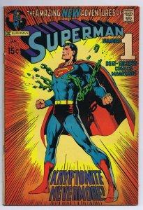 Superman #233 ORIGINAL Vintage 1971 DC Comics Neal Adams Cover
