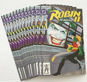 Robin II #3 New The Joker's Wild 1991 DC Comics  12 Copies in Lot !  New !
