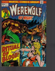 Werewolf by Night #7 (Marvel, 1973) VF+ to VF/NM