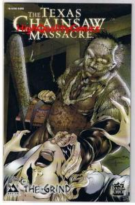TEXAS CHAINSAW MASSACRE : GRIND #3, NM+, Wrap, Avatar, 2006,more Horror in store