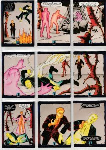 Dark Dominion # 0 Trading Cards  Rare Steve Ditko painted art ! 81 Cards !