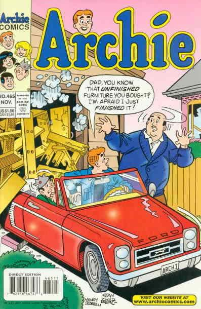 Archie #465 VF/NM; Archie | save on shipping - details inside