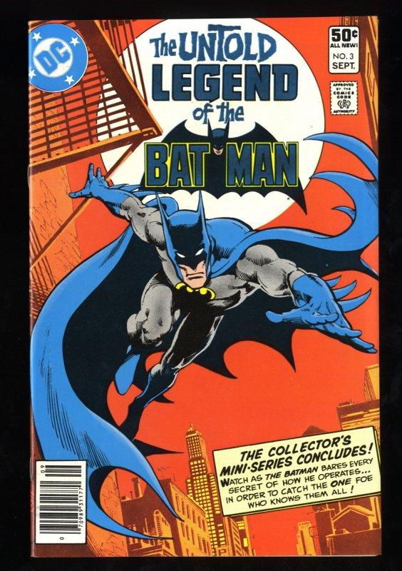 Untold Legend of Batman #3 NM+ 9.6