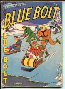 Blue Bolt Vol 4 #7 1944-WWII-Sgt Spook-Dick Cole-CC Beck-Capt Tootsie-VG
