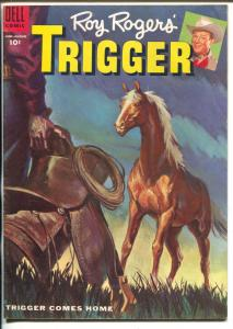 Roy Rogers' Trigger #55 1955-Dell-the famous movie palomino-VG+