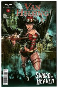 Van Helsing Sword Of Heaven #4 Cvr A (Zenescope, 2019) NM