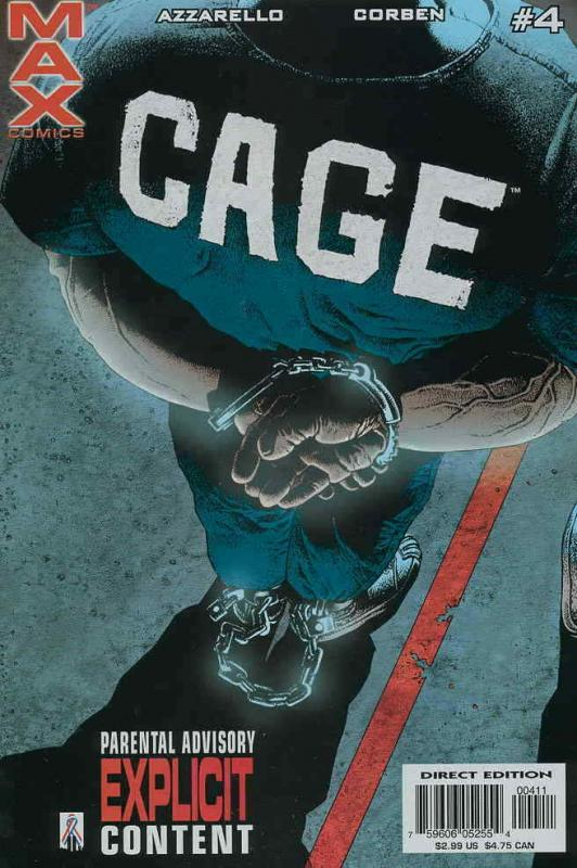 Cage (2nd series) #4 VF/NM; Marvel | save on shipping - details inside