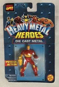 ToyBiz Superhero die cast metal model Iron Man