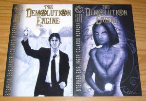 Demolution Engine #1-2 VF/NM complete series - steven perkins - indy comics set