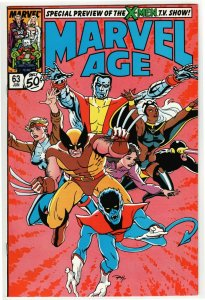 Marvel Age #63 (Marvel, 1988) NM