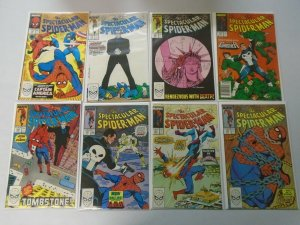 Spectacular Spider-Man lot 46 different #138-184 8.0 VF (1988-92 1st Series)