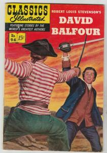 Classics Illustrated #94 (Apr-52) VF Mid-High-Grade David Balfour