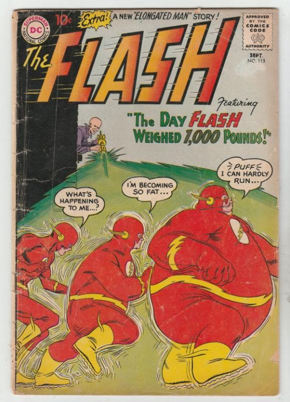 Flash, The #115 (Sep-60) VG+ Affordable-Grade Flash