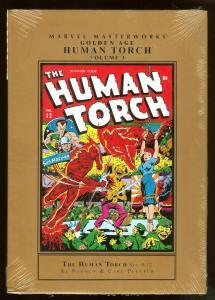 Human Torch Vol. 3 Golden Age   Marvel Masterworks  Hardcover Factory Sealed