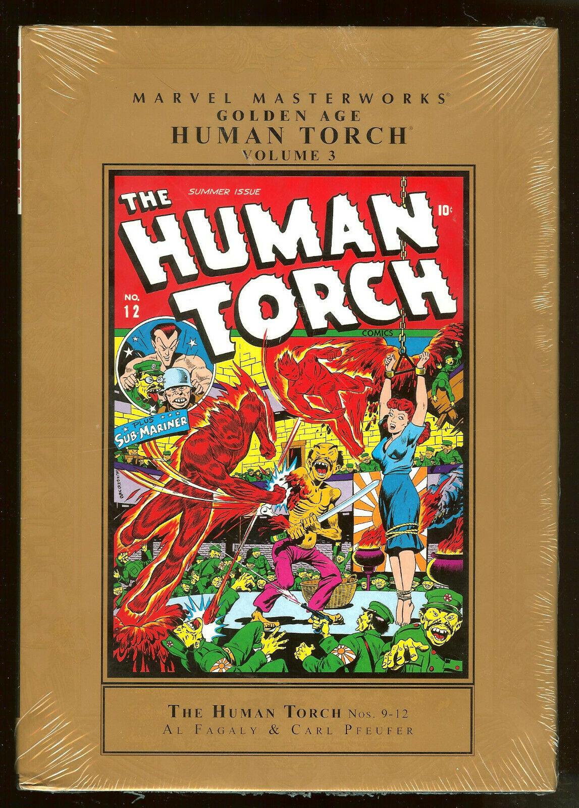 Marvel Masterworks Golden Age Marvel Comics Vol 1 SC TPB MMW Mystery Human Torch