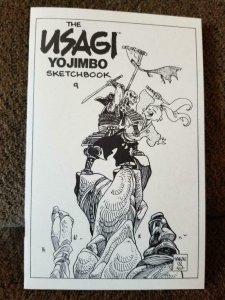 Stan SAKAI - Usagi Yojimbo Sketchbook 9, NM ashcan size Signed with Sketch 2012