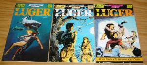 Luger #1-3 VF/NM complete series BRUCE JONES eclipse comics 1986 tom yeates 2