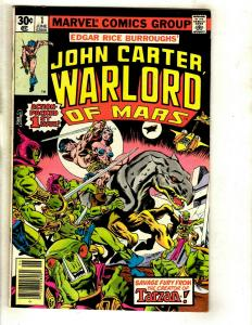 12 John Carter Marvel Comics # 1 3 4 5 6 7 8 9 11 12 13 Annual 2  WS6