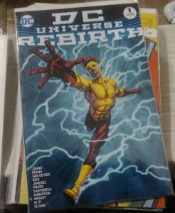 DC UNIVERSE REBIRTH #1 2016 3RD PRINT KID FLASH COVER WATCHMEN