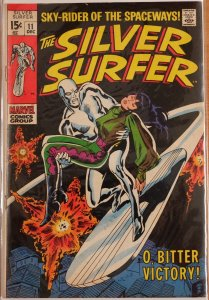 The Silver Surfer #11 (1969) Very Good 4.0