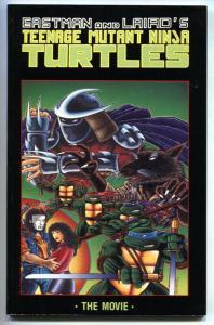 Teenage Mutant Ninja Turtles The Movie 1990-Shredder-comic book