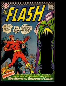 The Flash # 162 FN DC Comic Book Captain Cold Trickster Grodd Justice League NE3