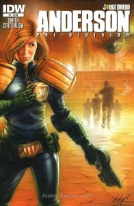 Judge Dredd: Anderson, Psi-Division #1 VF; IDW | save on shipping - details insi