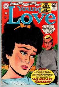 Young Love #51-VG-GREAT COVER-DC Romance VG
