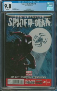 Surperior Spider-Man #3 CGC Graded 9.8