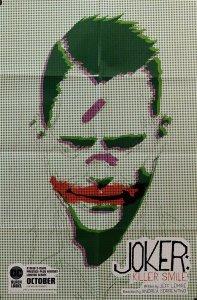 Joker Killer Smile Folded Promo Poster (24 x 36) New! [FP38]