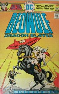 Beowulf Dragon Slayer  #5 DC Comics 1975 VG Bronze Age