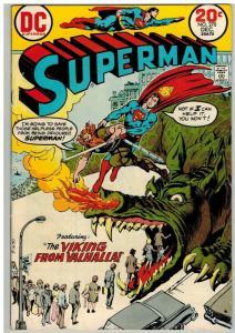 SUPERMAN 270 VG Dec. 1973