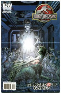 JURASSIC PARK DANGEROUS GAMES #3, VF/NM, 2011, Dinosaurs, Raptors, horror
