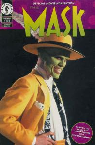 Mask, The: Official Movie Adaptation #1 VF; Dark Horse | save on shipping - deta